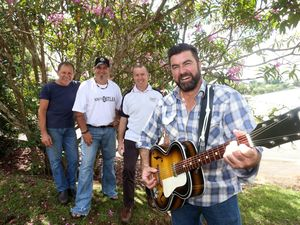 Maleny musos help to tame the Black Dog through song