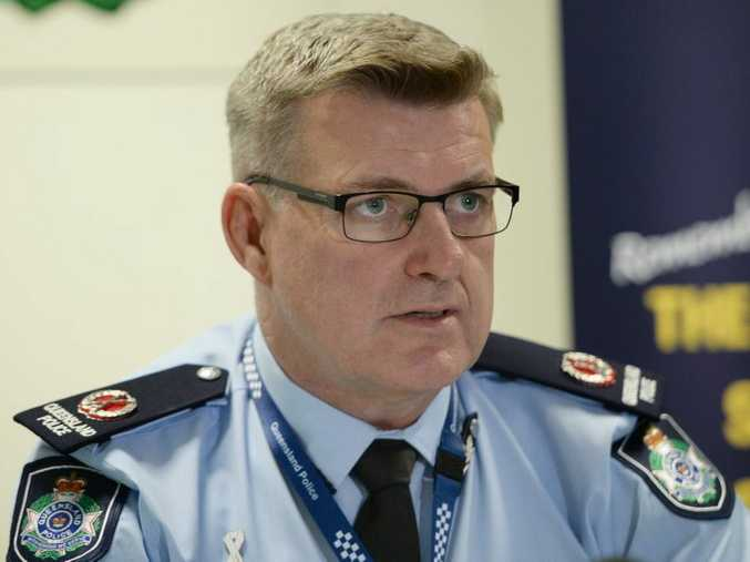 Queensland Police assistant Commissioner Mike Condon is heading back to Brisbane after 2 1/2 years in the region. Photo: Chris Ison / The Morning Bulletin