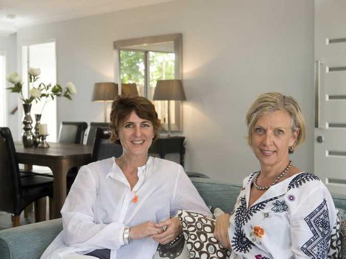 Gillian Chesterfield (left) and Deborah Meyer