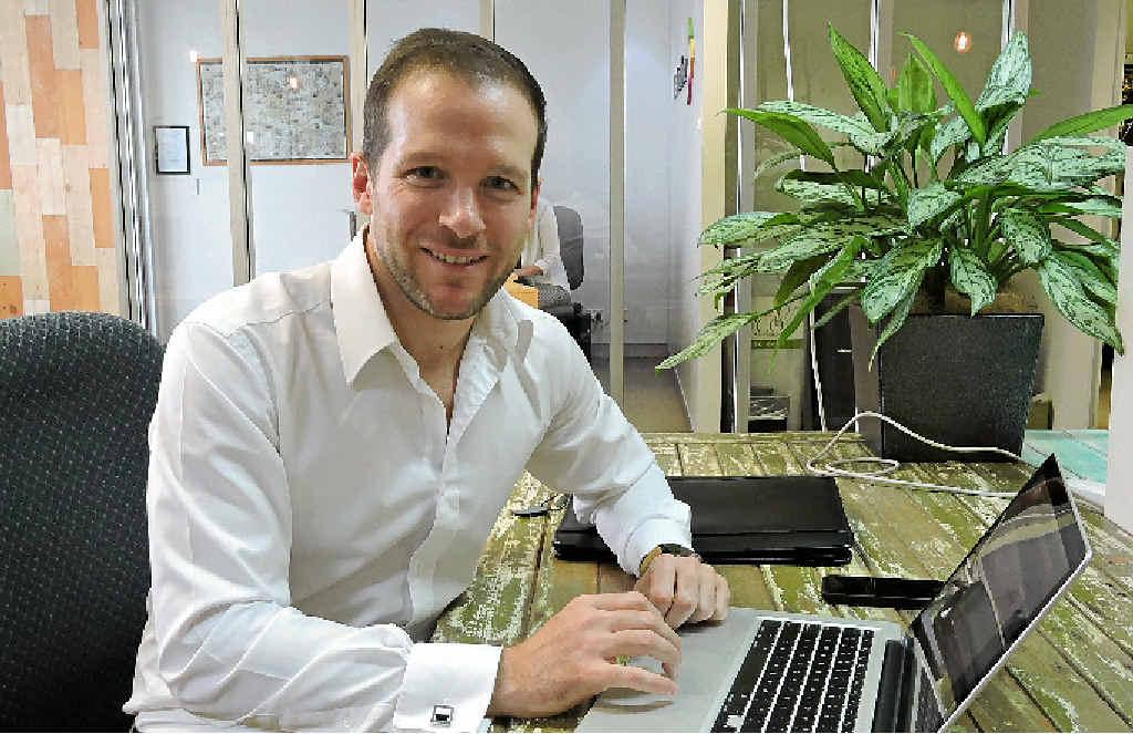 RECRUITER: TalentVine founder and managing director Justin Falk.