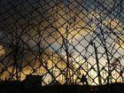 NO-GO ZONE: Razor wire surrounds the Christmas Island detention centre.