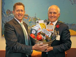 Taking the buy local message to Canberra