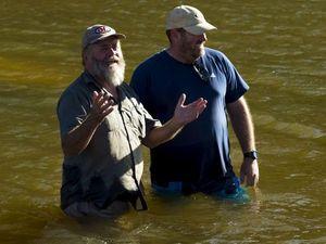 Finke River - just add water