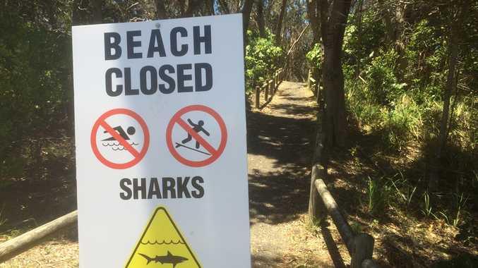 Beach closed Lighthouse Beach