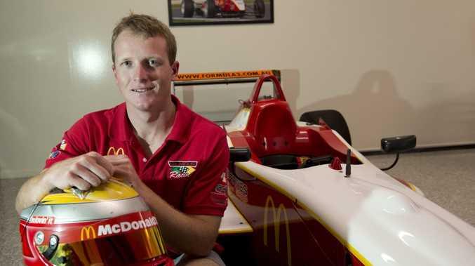 Formula 3 Australian Drivers Championship race car driver Ben Gersekowski has had a successfull season, Friday, November 07, 2014. Photo Kevin Farmer / The Chronicle