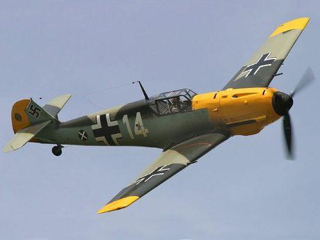 A Messerschmitt Bf 109E.