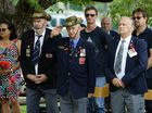 Remembrance Day at Workshops Rail Musuem. Photo: Rob Williams / The Queensland Times