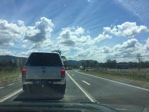 Traffic delays at Miriam Vale, Bruce Hwy
