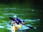MEMORABLE: Steve Posselt, one of the anti-dam campaign's colourful participants, is now kayaking around the world to promote climate change awareness.