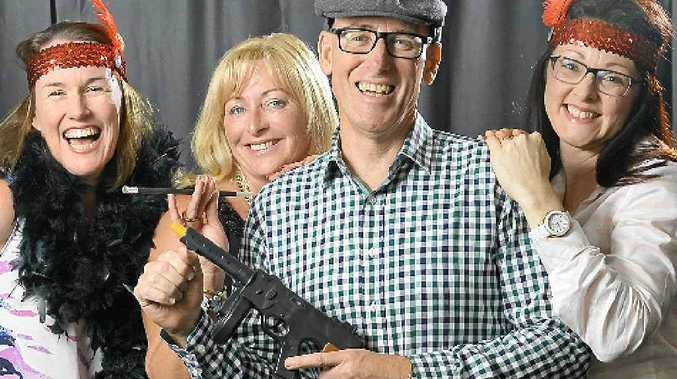 DRESS YOUR BEST: Anne-Maree Savige, Karen Bagenal, City Hope Church senior minister Mark Edwards and Therese Costello are looking forward to the Switchettes Great Gatsby Gala event to be held at the church on November 14.