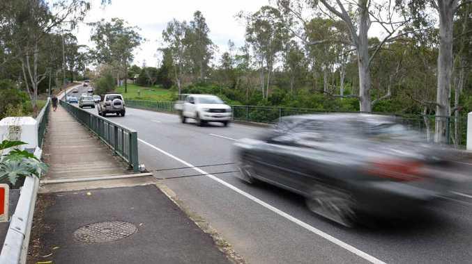WORKS AHEAD: Latest traffic studies show 16,000 vehicles use the Hancock Bridge on weekdays.