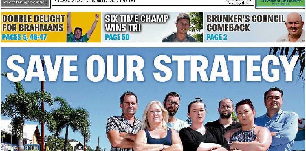 GET OUT: Venue owners in the Airlie Beach Safe Night Precinct feel they are being left out of the lockout law debate.