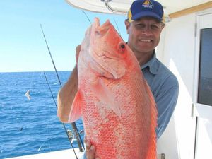 FISHING TAILS: TV show host ET returns to his top spot