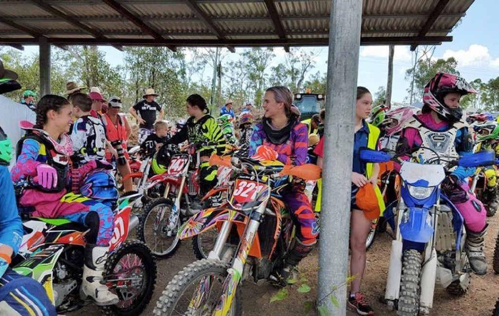 KEEN RIDERS: The Junior Development Camp at Coastal Park Motox Track.
