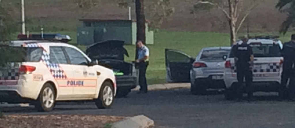 ALERT: Police were called to Australiana Park on Tuesday afternoon after two men propositioned a teenager in a toilet cubicle.