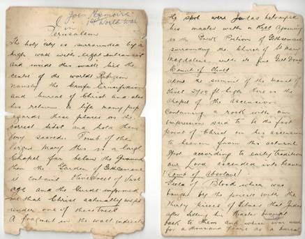 The war diary of Joseph Leo Fisher
