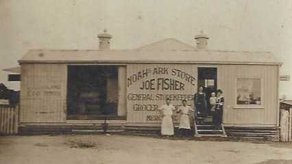 Joseph Fisher's general store.