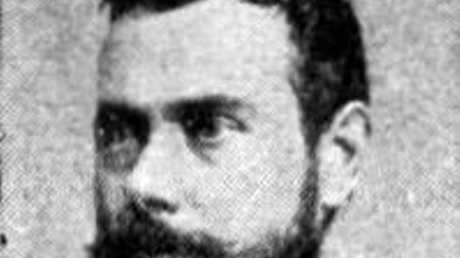 Acclaimed London poet Francis Thompson who Richard Patterson believes is the notorious mass murderer Jack the Ripper Photo Contributed