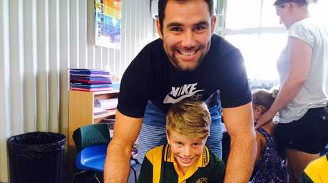 Cameron Smith and Lachlan Wendt