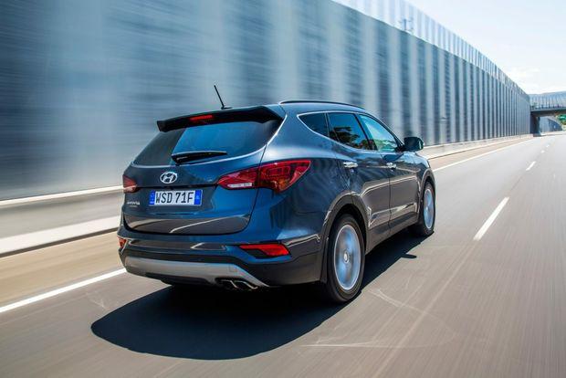 2015 Hyundai Santa Fe Series II Photo: Contributed