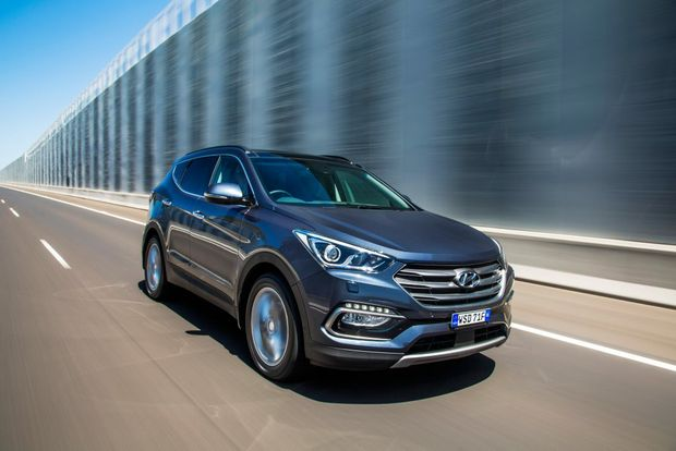 ROLLING ON: Subtle changes to the Santa Fe range build on what it already does well.
