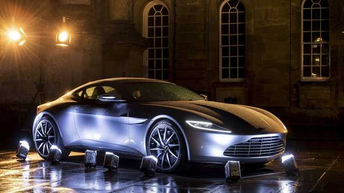UP IN LIGHTS: Aston Martin's DB10 built specifically for the new James Bond movie, Spectre. Just 10 have been made, and only one will end up in private hands.