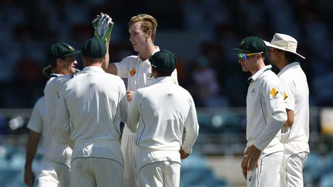 Head and shoulders above the rest ... Billy Stanlake. Photo: AAP Image.