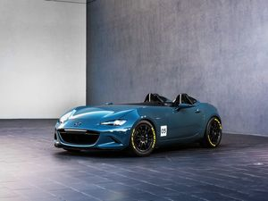 Mazda's MX-5 Speedster and Spyder concepts