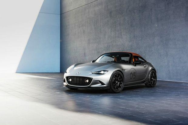 Mazda MX-5 Spyder Concept. Photo: Contributed.