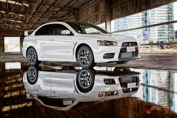 LAST HURRAH: Mitsubishi Lancer Evo Final Edition is one of 150 for Australia from a limited run of 1000 globally