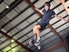 NO HANDS: Jaidyn Gowley, 17, shows off his skill ahead of Saturday's Australian Scooter Association state qualifiers at Rock Off Indoor Park at Hervey Bay.