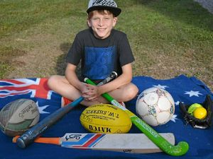 All-sport girl Brooke, 11, nominee in Australia Day Awards