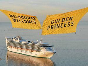 Cruising in comfort on the Golden Princess