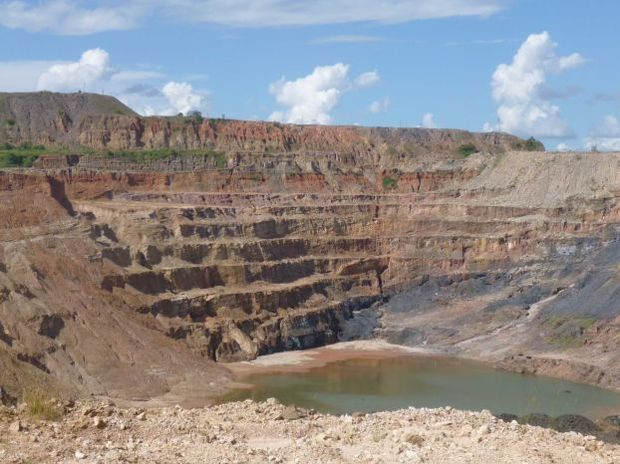 Chingola mine is described as the biggest copper mine in Africa, producing about 2 million tonnes of ore a year. (Leigh Day lawyers, London)
