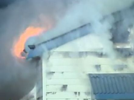 Fire almost destroyed a home in the Lockyer Valley.