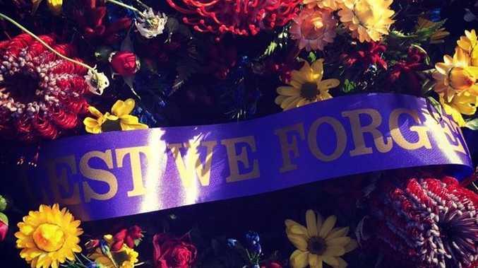 POD Rebecca Ryan Remembrance Day Lismore War Memorial