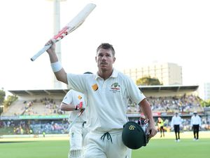 Warner rewrites record books on day one at WACA