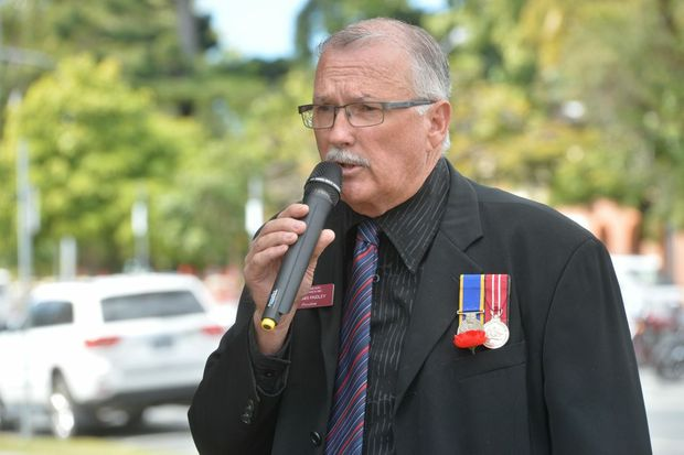 DENNIS Paidley said Mackay Regional Council Mayor Deirdre Comerford and Remembrance Day service organiser Col Benson only acted with veterans interests at heart.