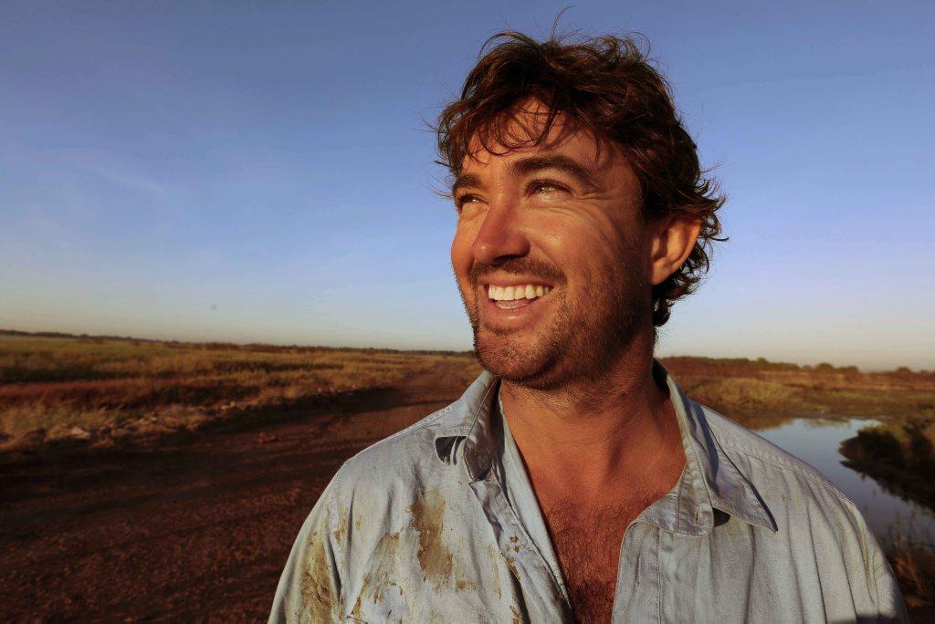 Matt Wright stars in National Geographic's Outback Wrangler.