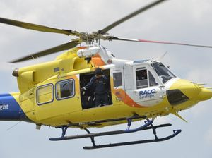 Woman airlifted from Taroom after single vehicle accident
