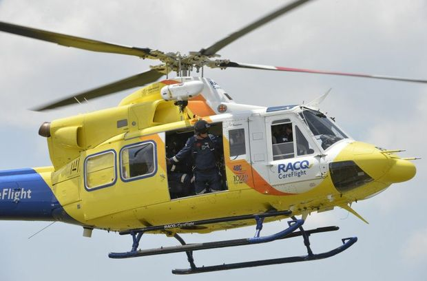 Careflight transported a woman in her mid-20s from Taroom to Toowoomba Hospital this afternoon.