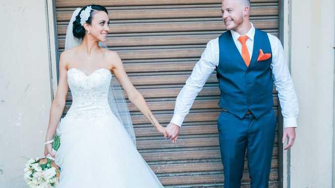 It was a fairytale wedding for Rob and Jaimee Miller (nee Cavanagh).