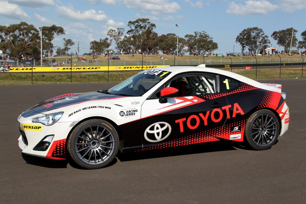 MONEY MACHINE: $50,000 up for grabs for winner of 2016's Toyota 86 Series championship