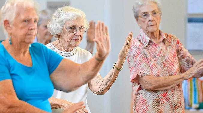GOOD FOR ALL: Tai Chi is suitable for everyone, no matter your age or disability.