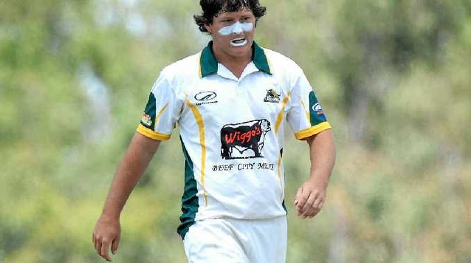 LEG SPIN: Justin Peacock's ability to turn the ball will be vital for the Rocky senior cricket side in their first game of the CQ Championships against Central Highlands on Sunday.