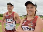 READY TO TRI: Sunshine Coast's Jake Hynes and Savannah Wayner are looking forward to the race at Kawana on Sunday.
