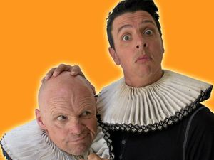 Comedic twisting of Bard classic creates laughs
