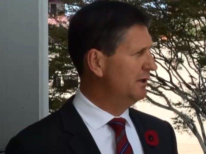 Former Health Minister Lawrence Springborg
