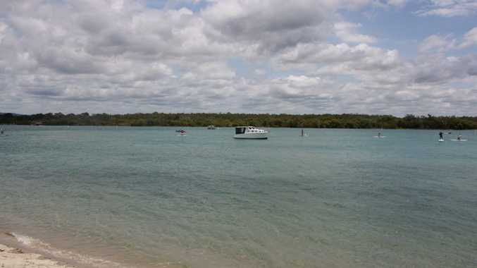 A teenager has been injured while riding a jetski on the Noosa River.