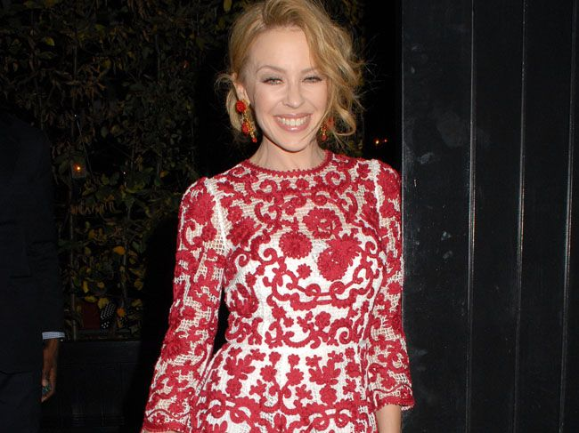 Kylie Minogue believes she and her new toyboy lover Joshua Sasse are the perfect couple, despite their 20-year age gap, because he makes her really happy.